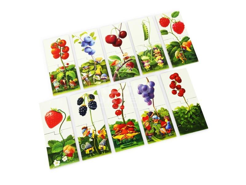 kép nagyítása Törpék és bogyók 20 darabos XXL puzzle