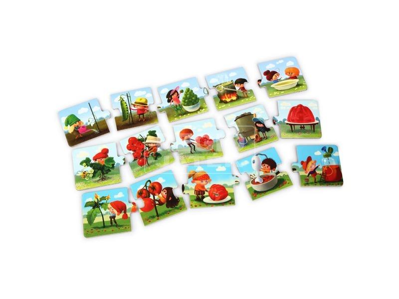 kép nagyítása Főzzünk együtt 15 darabos XXL puzzle 2
