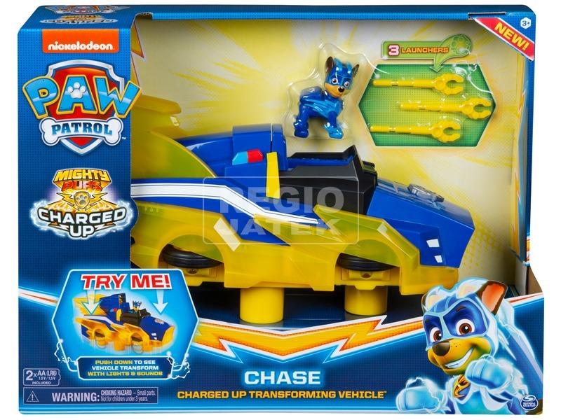 Mancs Őrjárat átalakuló jármű Chase
