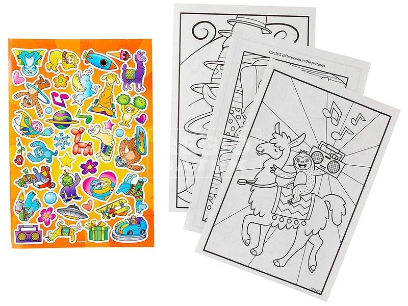 kép nagyítása Crayola Lajhár és Láma színező
