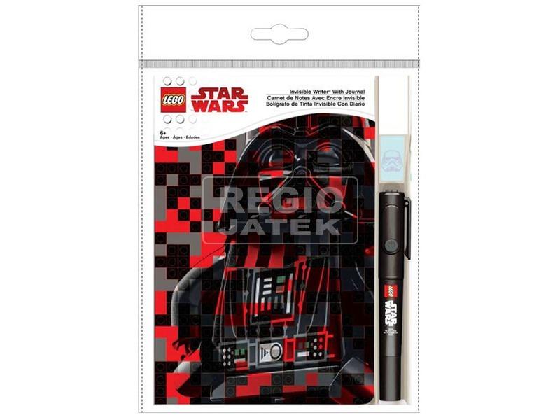 LEGO Láthatatlanul író toll +napló