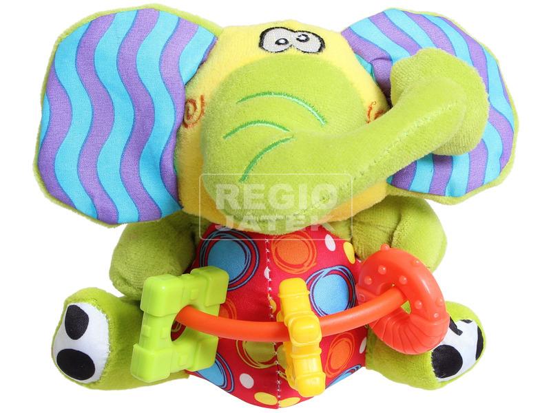 Plüss elefánt rágókával