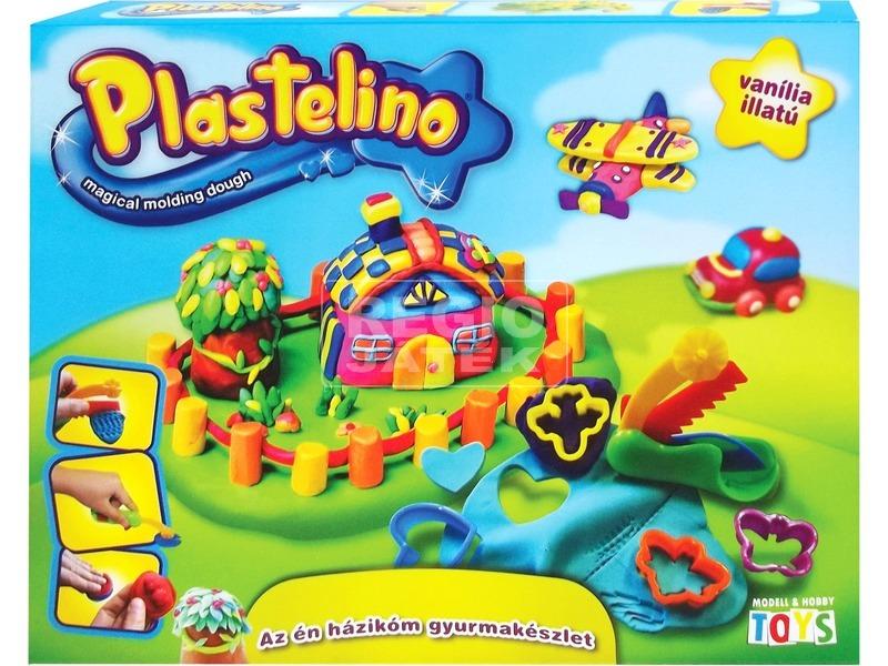 Plastelino az én házikóm gyurmakészlet