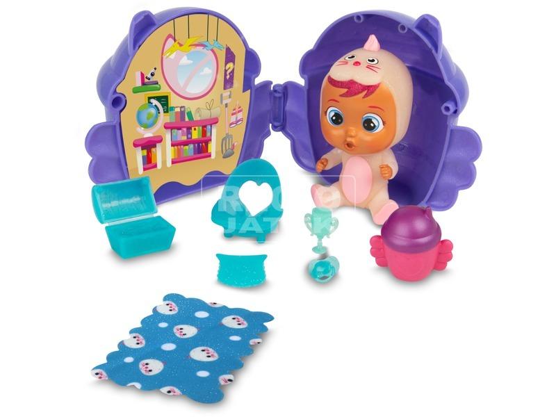 kép nagyítása Cry babies magic tears fantasy szárnyas házikóban