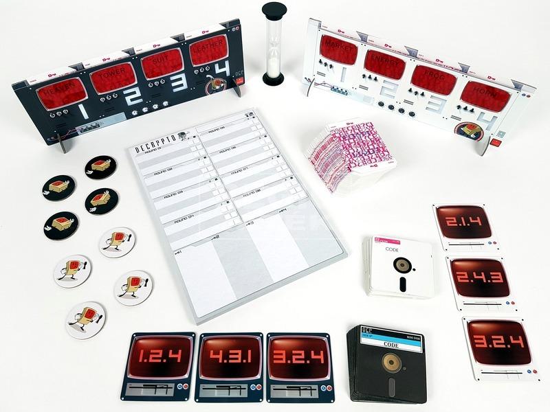 kép nagyítása Kódfejtő szórakozató társasjáték - LSM