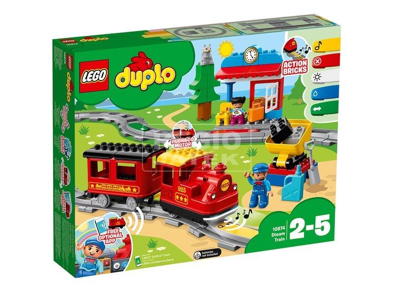 LEGO® DUPLO Town gőzmozdony 10874