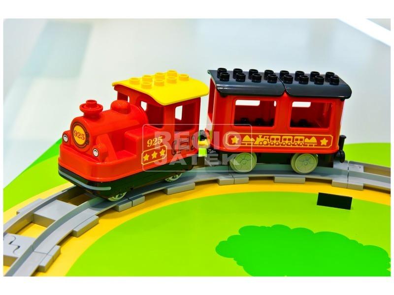 kép nagyítása LEGO® DUPLO Town gőzmozdony 10874