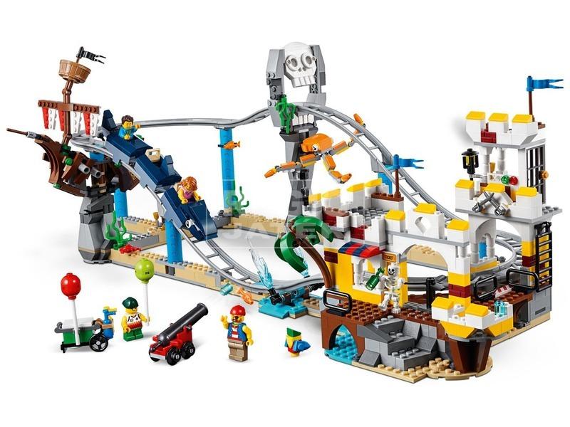 kép nagyítása LEGO® Creator Kalózos hullámvasút 31084