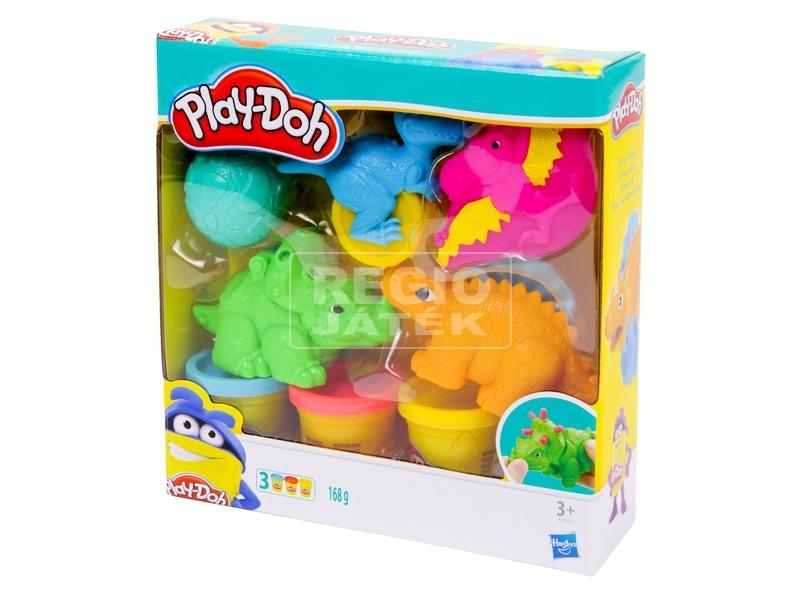 kép nagyítása Play-Doh dínó eszközök gyurmakészlet