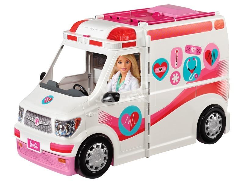 Barbie: mentőautó készlet