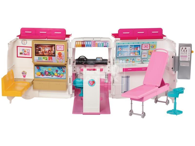 kép nagyítása Barbie: mentőautó készlet