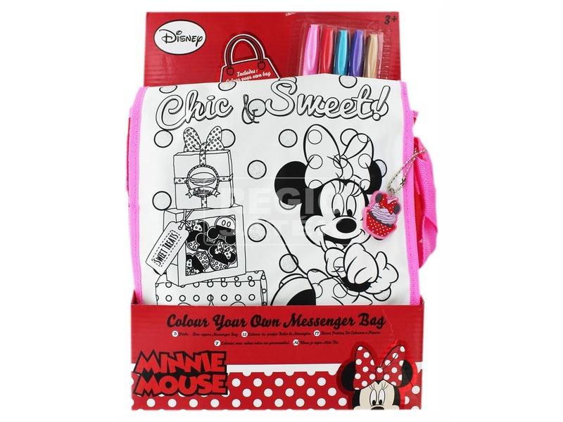 Minnie egér kifesthető táska