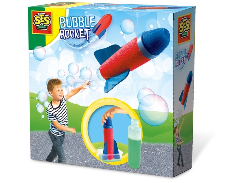 Buborékfújó rakéta készlet