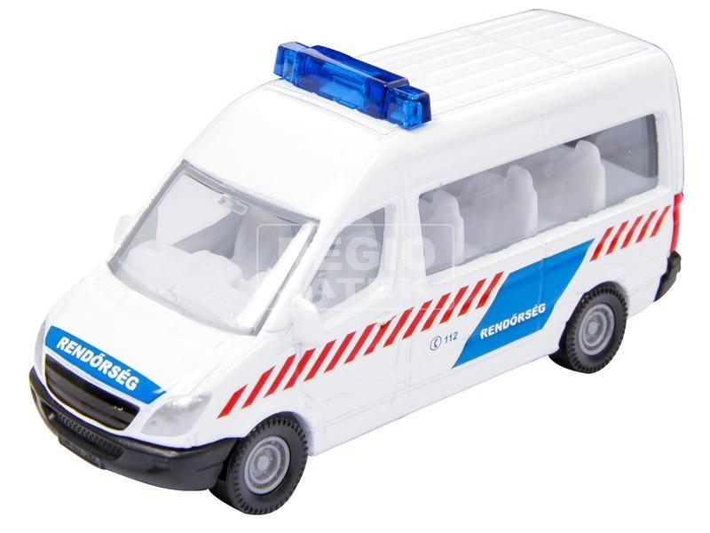 kép nagyítása Magyar rendőrségi busz és motor 1655