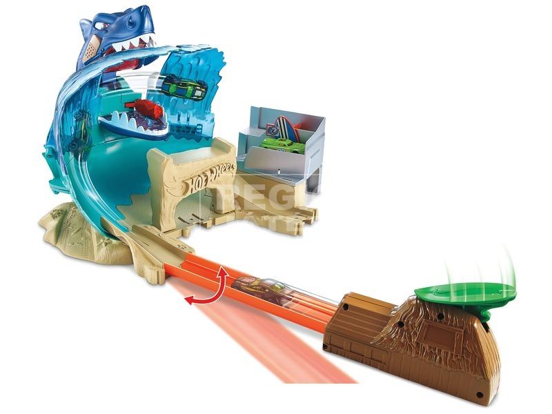 kép nagyítása Hot Wheels Cápa a strandon versenypálya