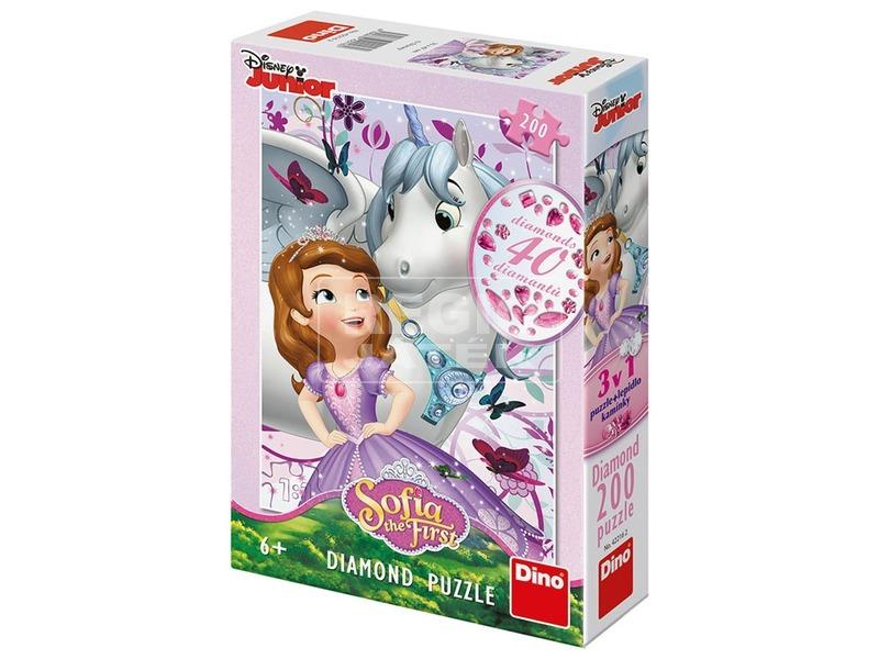 Puzzle 200 db csillogó - Szófia hercegnő