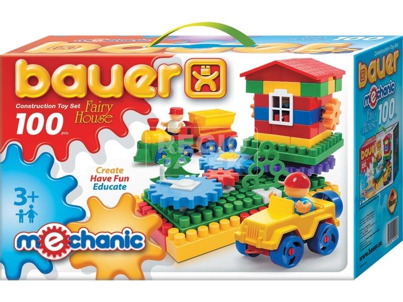Bauer építőjáték - Mechanic, 100 db