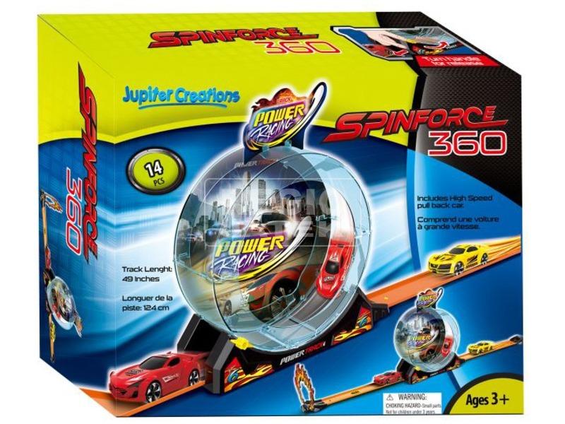 kép nagyítása Spinforce 360 versenyautó készlet