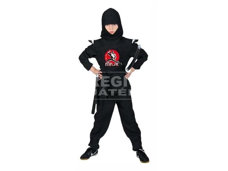 Ninja jelmez - 140, 164-es méret
