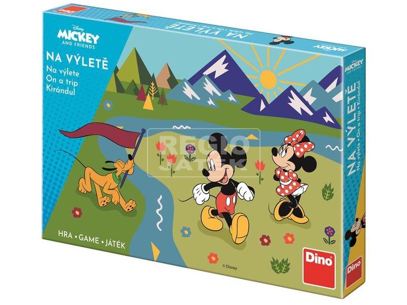 Társasjáték - Kirándulj Mickey-vel