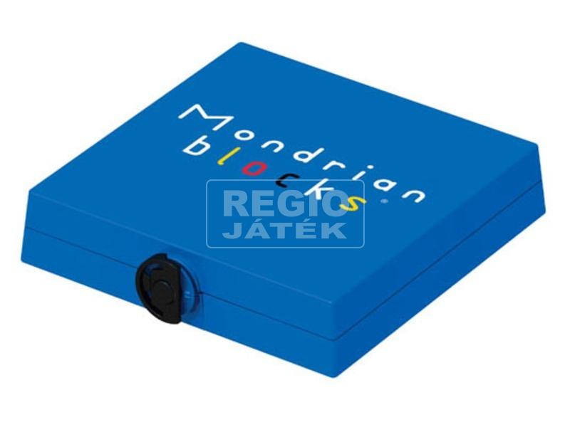 kép nagyítása Mondrian logikai játék, kék