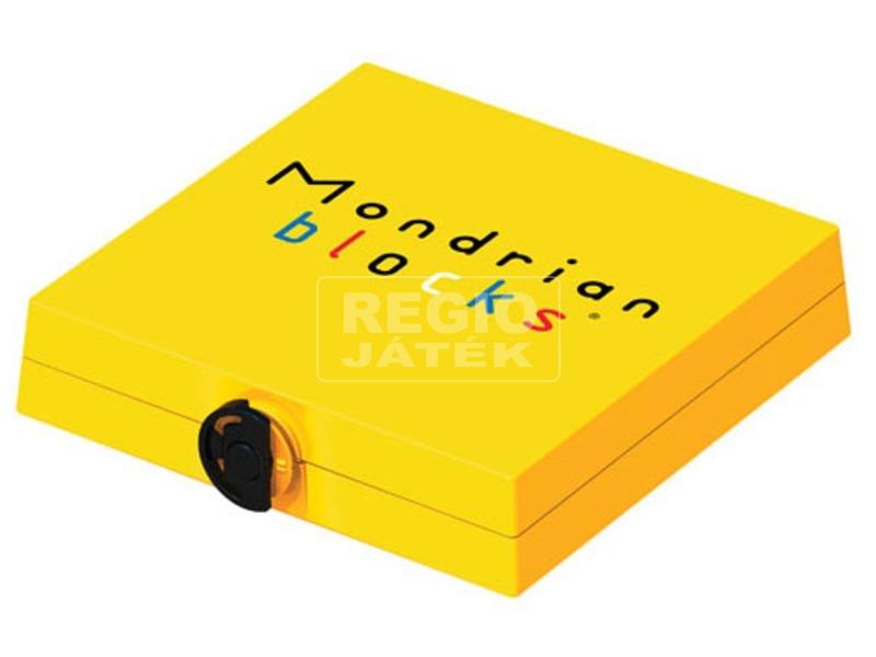 Mondrian logikai játék, sárga