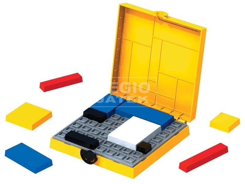 kép nagyítása Mondrian logikai játék, sárga