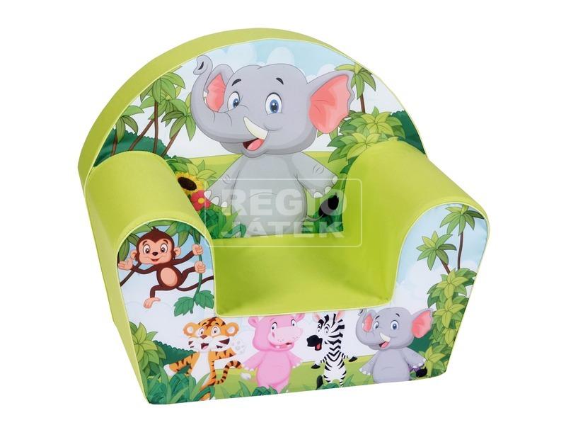 Elefánt gyerekfotel - 52 x 33 x 42 cm