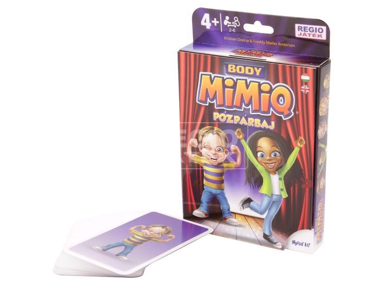 kép nagyítása MimiQ - Body Pózpárbaj társasjáték