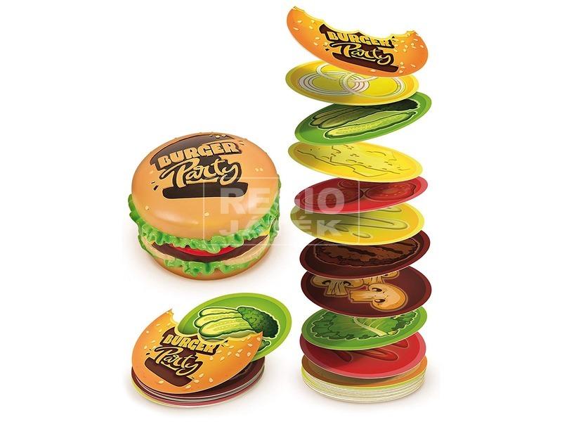 kép nagyítása Burger Party társasjáték