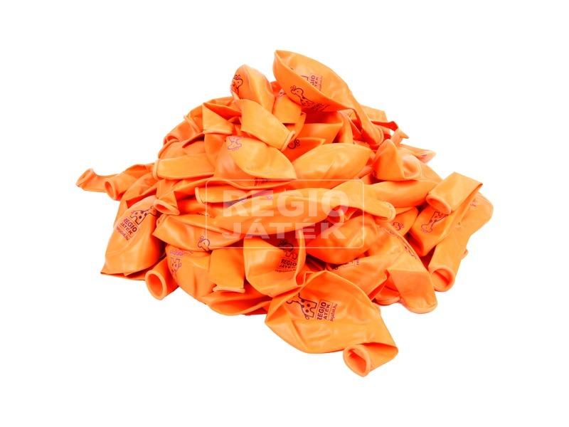 kép nagyítása REGIO lufi 100 darabos készlet - narancs, 30 cm