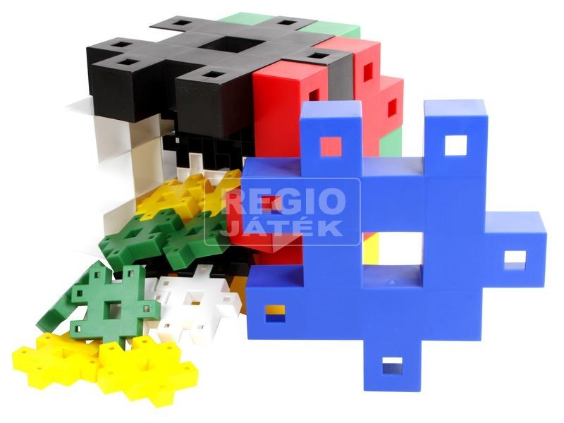 kép nagyítása Műanyag építőjáték 48 darabos készlet