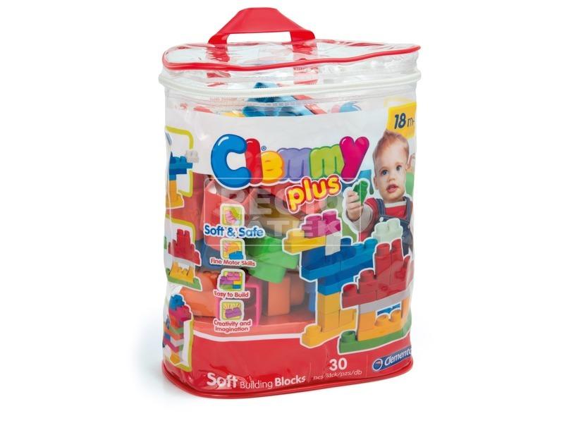 Clemmy 30 darabos építőkocka készlet táskában