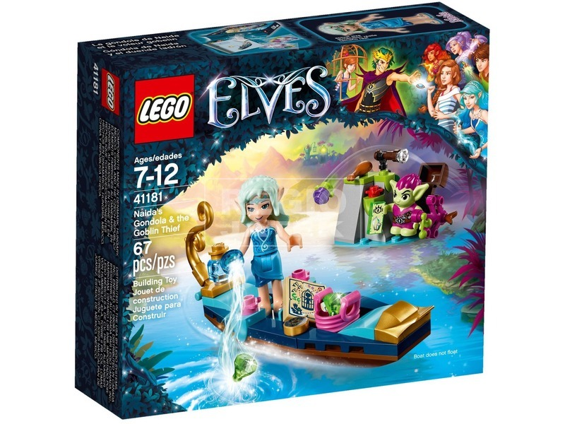 LEGO Elves Naida gondolája és a tolvaj manó 41181