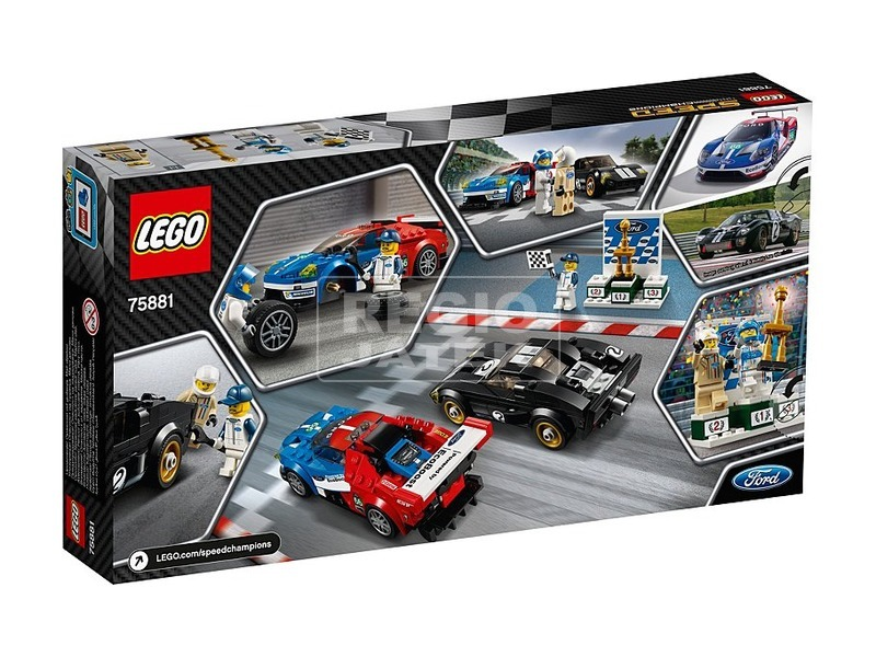 LEGO® Speed Champions 2016 és 1966 Ford GT 75881