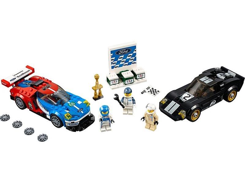 kép nagyítása LEGO® Speed Champions 2016 és 1966 Ford GT 75881