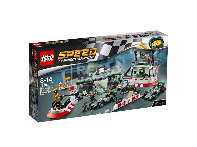 LEGO® Speed Champions Mercedes AMG F1 csapat 75883