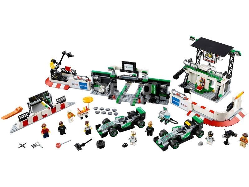 kép nagyítása LEGO® Speed Champions Mercedes AMG F1 csapat 75883