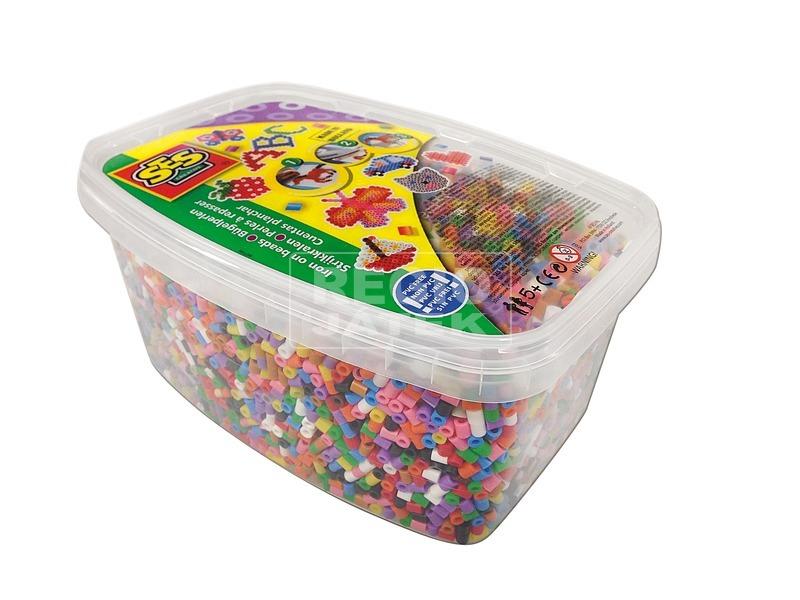 Vasalható gyöngy 12000 darabos készlet dobozban