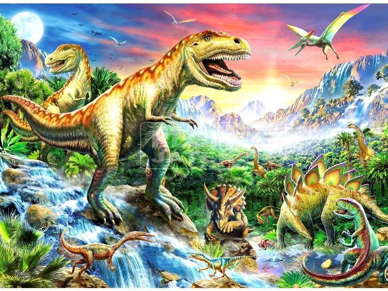 Dinoszaurusz 100 darabos XXL puzzle