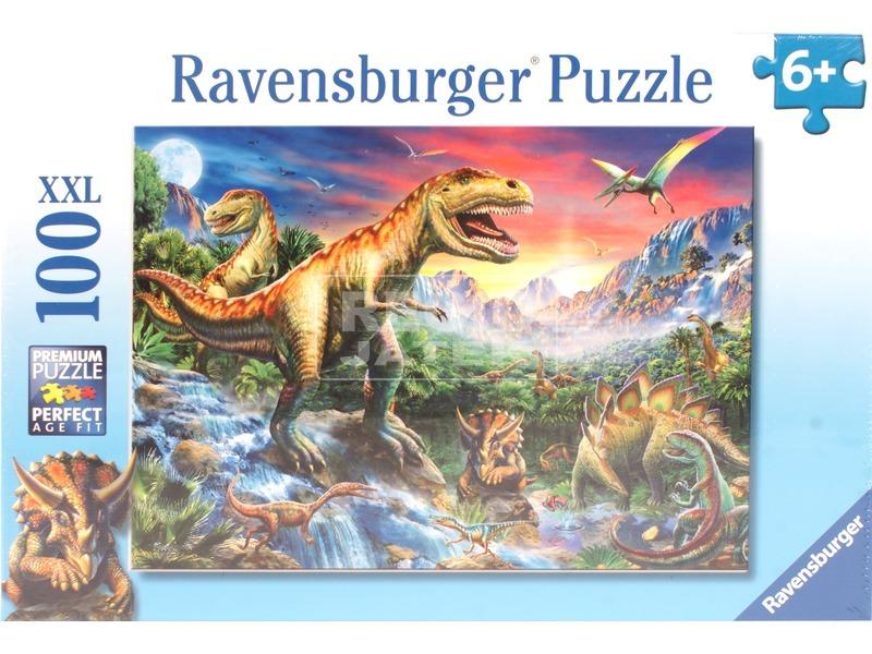 kép nagyítása Puzzle 100 db - Dinoszauroszok