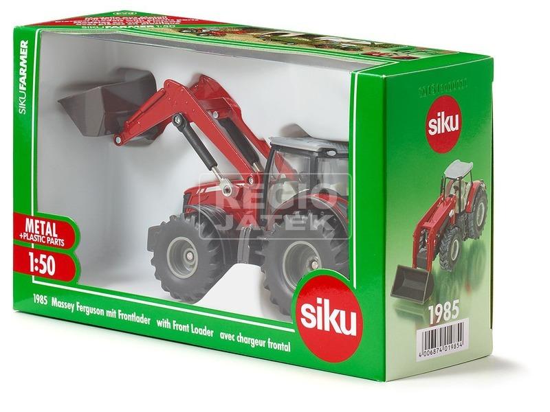 Siku: Massey-Ferguson 8690 traktor markolóval 1:50 - 1985