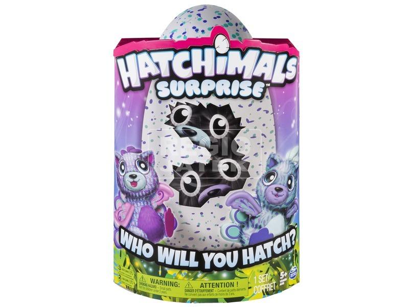 Hatchimals Peacat cica ikrek tojásban
