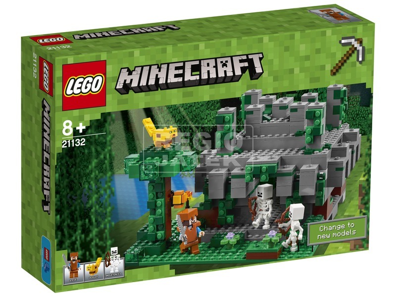 LEGO Minecraft 21132 Dzsungel templom