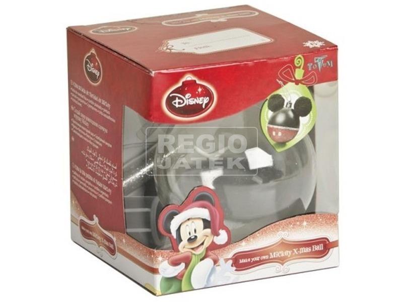 Mikiegér karácsonyi gömb díszítő készlet