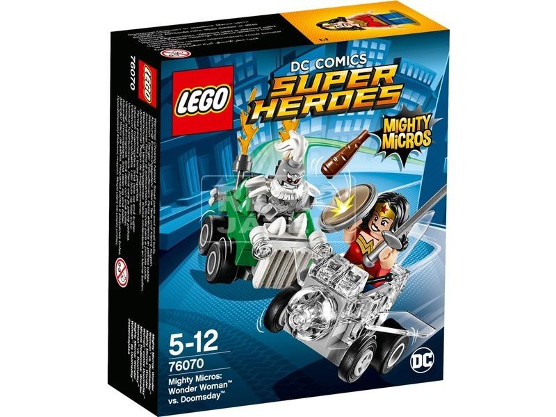 LEGO® Super Heroes Wonder Woman és Doomsday 76070