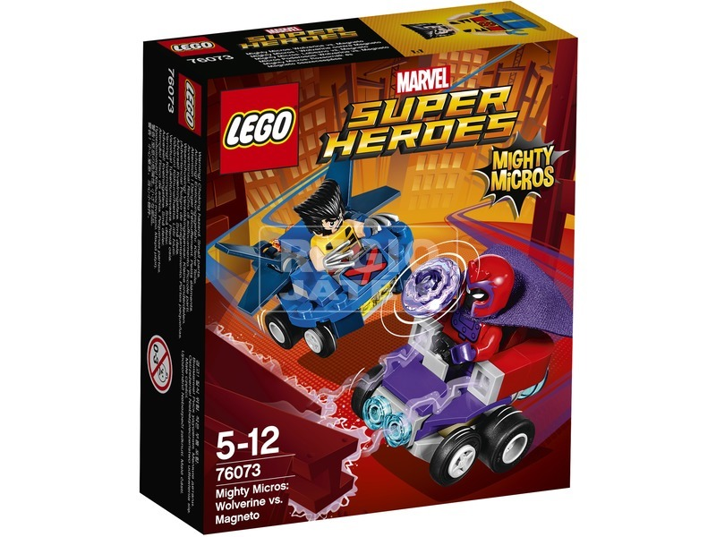 LEGO Super Heroes Rozsomák és Magneto 76073