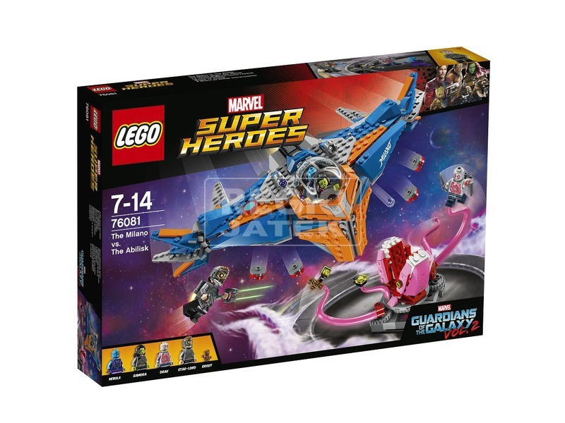 LEGO Super Heroes 76081 Confidential Guardians of the Galaxy