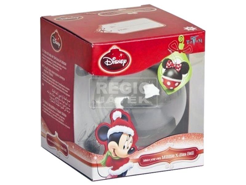 Minnie egér karácsonyi gömb díszítő készlet