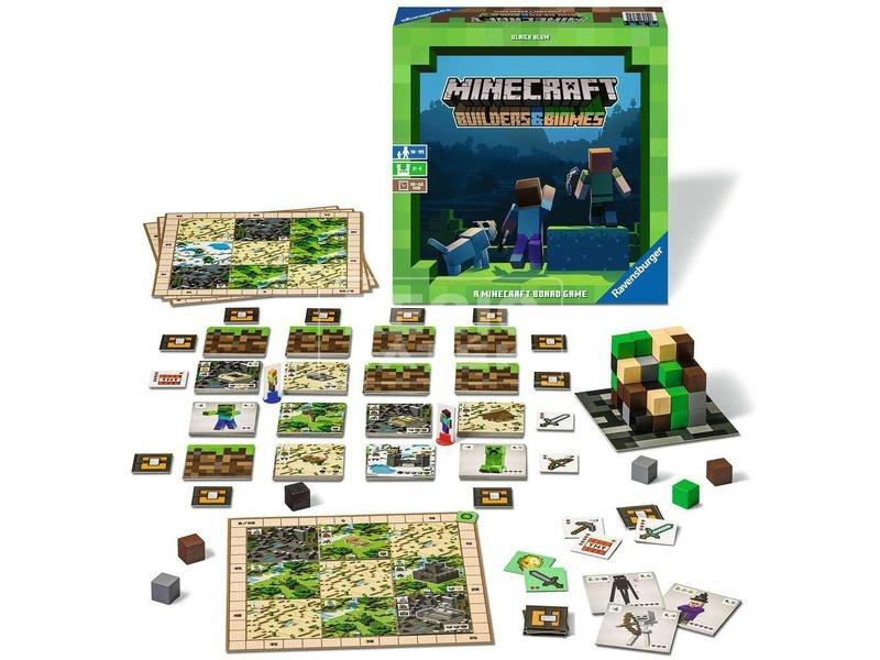 kép nagyítása Ravensburger Minecraft társasjáték